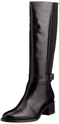 Salamander Damen Melia Langschaft-Stiefel, Black, 36 EU