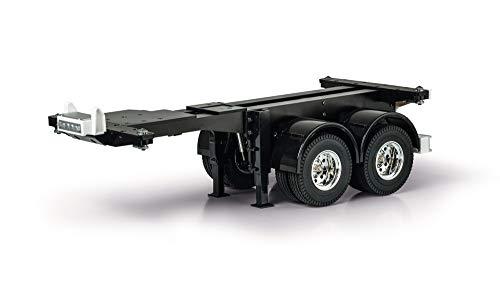 Carson 1:14 20Ft. Container Auflieger-Fahrg.Kit, RC, Zubehör für Tamiya Trucks, Ersatzteile, Tuningteile, Modellbau, Made in Germany, 500907334
