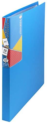キングジム クリアファイル コレクション 収納ファイル 青 193RYアオ