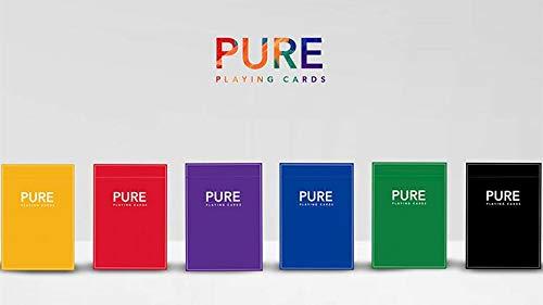 Murphy's Magic Supplies, Inc. Baraja de Cartas Pure NOC (Green) Playing Cards by TCC and HOPC - Giochi di Magia e Prestigio