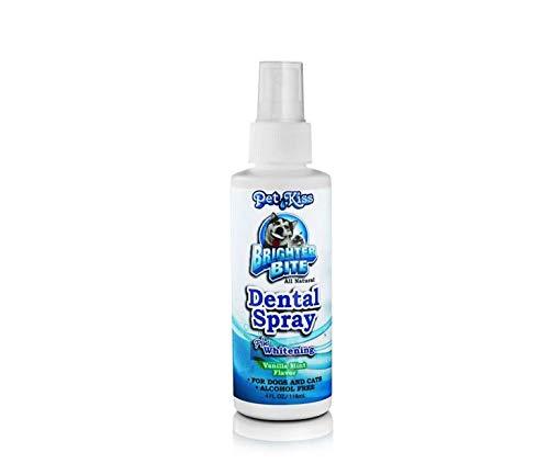 Petkiss Brighter Bite Dental Spray gegen Zahnstein bei Hunden und Katzen