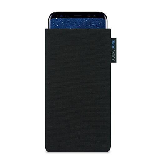 Adore June Classic - Funda para Samsung Galaxy S8 - Efecto Limpieza Pantalla - Original Cordura - Negro