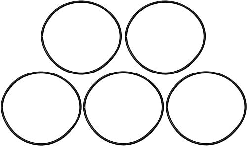 時計用部品 裏蓋パッキン 1袋5個入り φ1.0×7.0~43.0mm 51サイズ展開 O-RING DE-609O-1- (34mm)