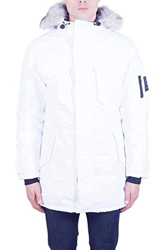 Timberland Herren Parka Expedition Weiss (100) L
