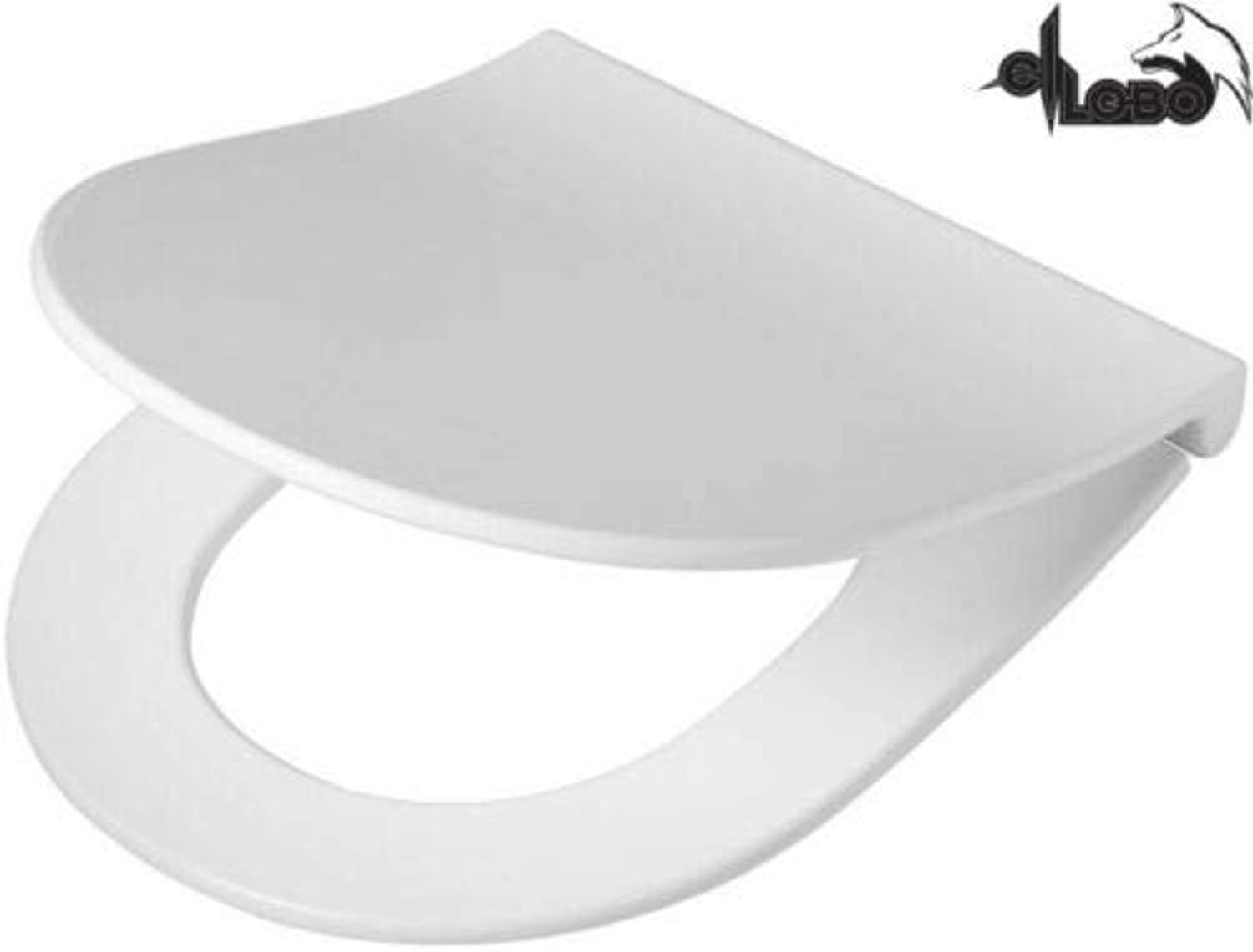 Pagette Subline - FLAT - WC Sitz - Softclose - TakeOff - Klick-o-matik - weiss - 7.9577-0202