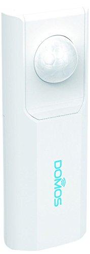Domos SM-0 Sensor de Presencia Wi-Fi con PIR y Aviso por notificación al Smartphone, Blanco
