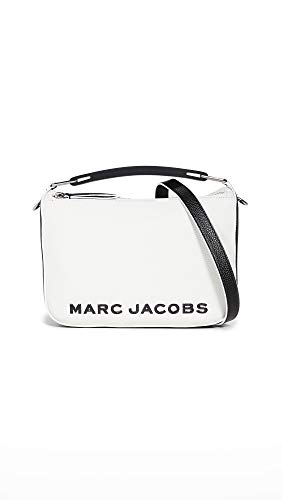 Marc Jacobs Borsa a tracolla The The Softbox bianca e nera