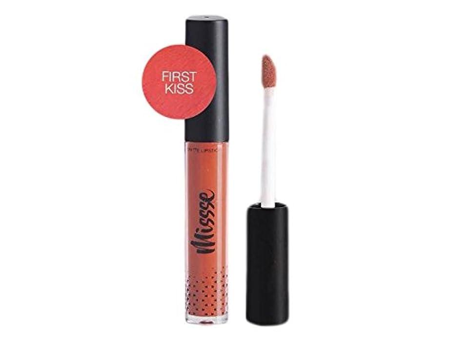価値のない法王仕様Missse Matte Liquid Lipstick - First Kiss Color