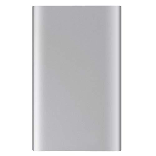 Externe SSD Festplatten Datenspeicher External Solid State Drive Disk Schnelle Geschwindigkeit USB3.0 Aluminiumlegierung Dünne Schale Hardware-Schreibschutz Verschlüsselung Wechseln (480GB)