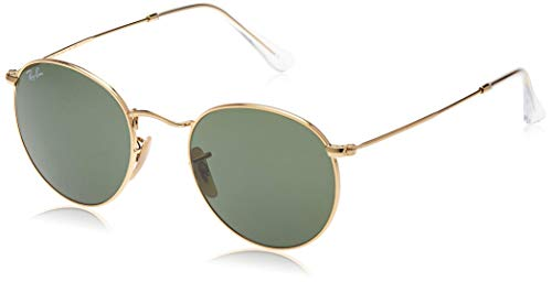Ray-Ban Rb 3447 Occhiali da sole, Oro (Gold), 50 mm Unisex-Adulto