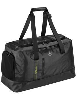 Mercedes-Benz Collection 2020 Sporttasche, anthrazit/Lime