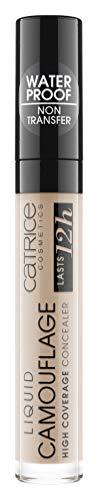 Catrice Liquid Camouflage Concealer, Correttore liquido, Porcelain 010, 5 ml
