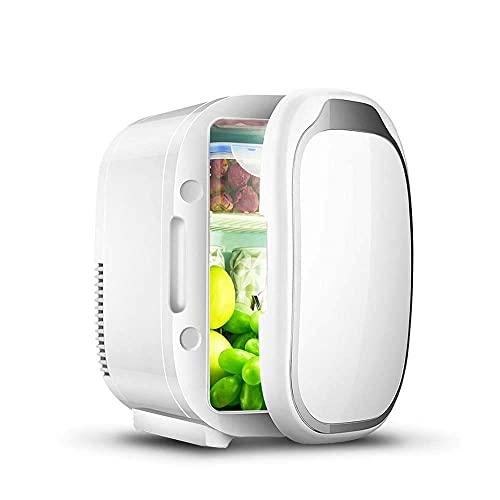 ZGNB Mini refrigerador de Coche de 6 litros, refrigerador eléctrico portátil, Caja térmica, congelador, Viaje de Picnic al Aire Libre [Clase energética A ++]