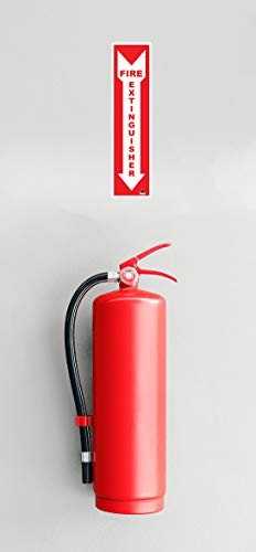 Fire Extinguisher Sign Stickers [25 Pack]- 4