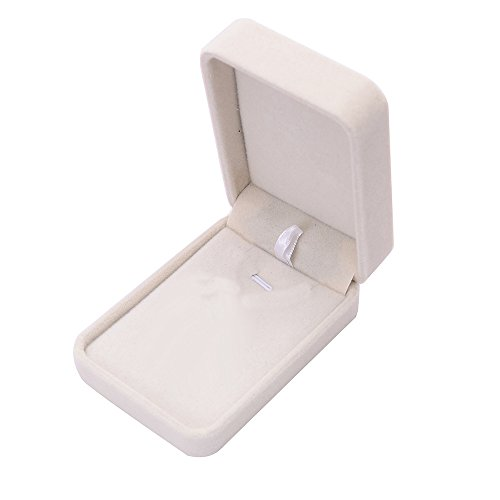 SIRIGOGO - Caja de Regalo de Terciopelo sintético para Anillo o Pulsera, Caja de Regalo para proposición de Ceremonia de Boda para Regalo de joyería # A para Anillo, E