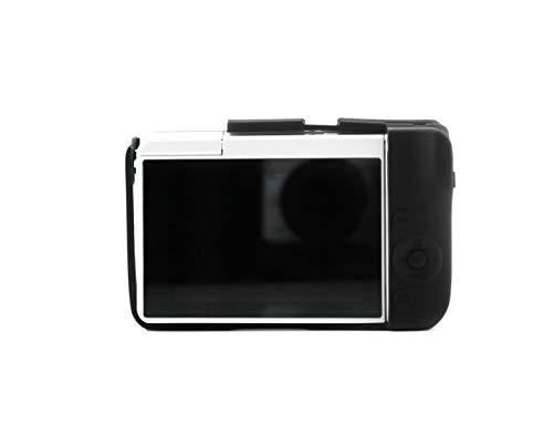 Yousave Accessories CC1735a - Funda de silicona para cámara Canon EOS M10, color negro