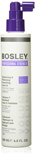 Bosley Professional Strength Volumizing and Thickening Nourishing Leave-In, 6.8 Fl Oz