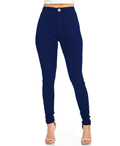 Jeans Elasticizzati Donna Vita Alta Skinny Jeans