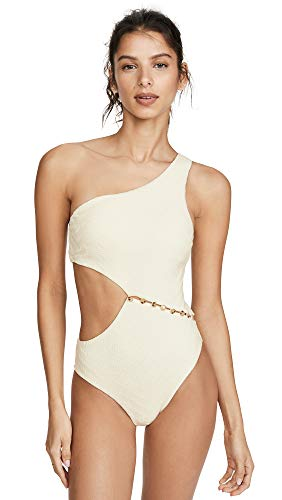 Red Carter Women's Peri One Piece Swimsuit, Ivory, Medium
