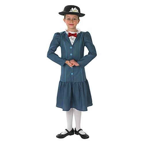 Rubie's Costume ufficiale Disney Mary Poppins bambino 9-10 anni