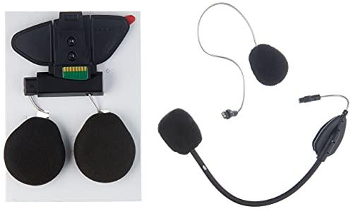 Midland BT Pro - Kit Completo para instalación en Casco, Color Negro