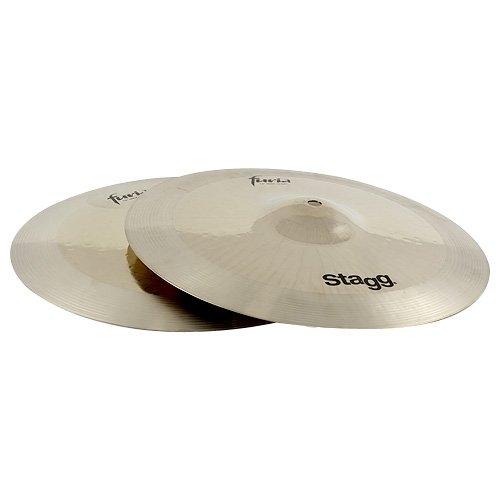 Stagg F-HR13B 13-Inch Furia Rock Hi-Hat Cymbals
