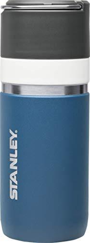 Stanley GO Ceramivac Thermobecher mit Keramikbeschichtung, 0.47 L, beschichteter 18/8 Edelstahl, vakuumisoliert, geschmacksneutral, Isolierbecher Kaffeebecher