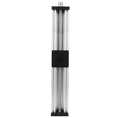 Cavo per macchina da incidere della stampante 3D della lega di alluminio della Tabella lineare dello scorrevole della vite cavo 2mm nero/argento(500mm-scheggia)