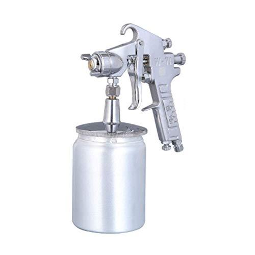 DX Spray Gun Zwaartekracht Voeding Lucht, W-71 met 1.8Mm Verstelbare 360° Nozzle En 750Ml Watering Kan voor Industriële Onderdelen Spuiten