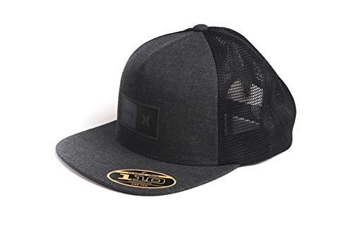 Hurley Herren M Natural 2.0 Trucker Hat Hut, Black Heather, 1SIZE