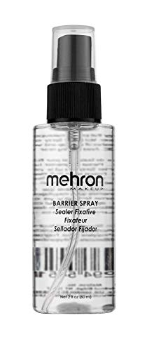 Mehron Makeup Barrier Spray (2 Ounce)