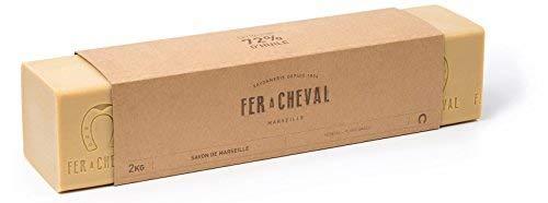 Fer à Cheval - Véritable Savon de Marseille Végétal - Barre 2 Kg