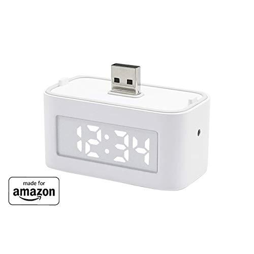"""Brandneue Smart Clock für Echo Flex, """"Made for Amazon"""""""