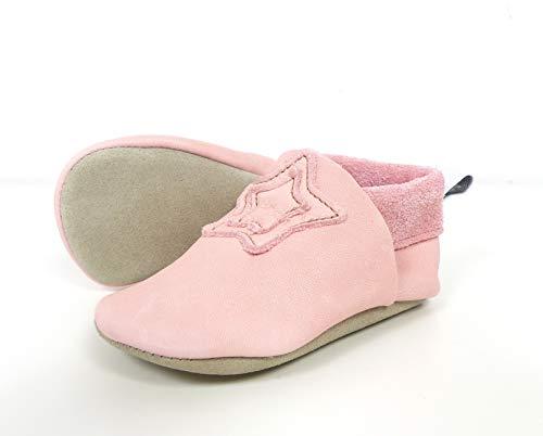 Sterntaler Dziewczęce botki dziecięce niskie kapcie, Pink Rosa 5201900, 36 EU