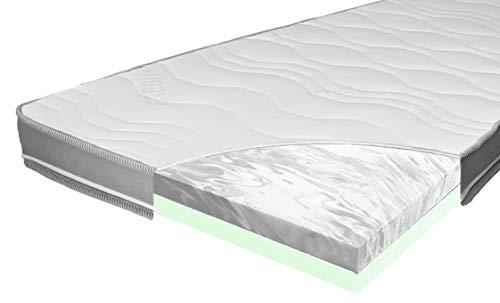 ARBD Matratzenauflage - Topper | Modelle mit 7-12cm Gesamthöhe | waschbarer Bezug mit 3D-Mesh-Klimaband (H3/H4 Duo XXL - 12cm, 180 x 200 cm)