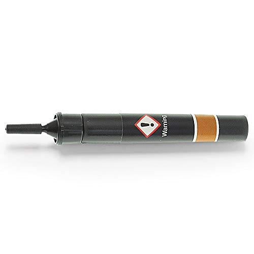 Kunstharz Kartusche für mittleres Holz | Kunststoffkleber mit UV-Licht für Reparatur & Modellbau | Perfekt auf Metall, Parkett, Glas, Holz & Kunststoff