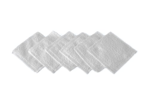 Micro Peeling Sensation Augentücher, 10 x 10 cm, 6-teilig, weiß