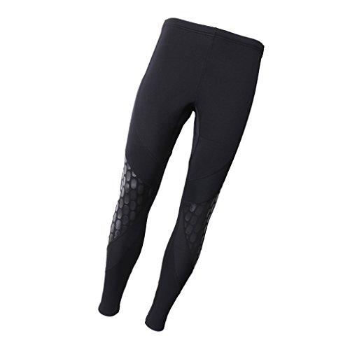 MagiDeal Herren Neoprenhose 1,5 mm warm Super Stretch Hose für Wassersport Schnorcheln Angeln Tauchen Surfen Kanufahren Schwimmen, XL