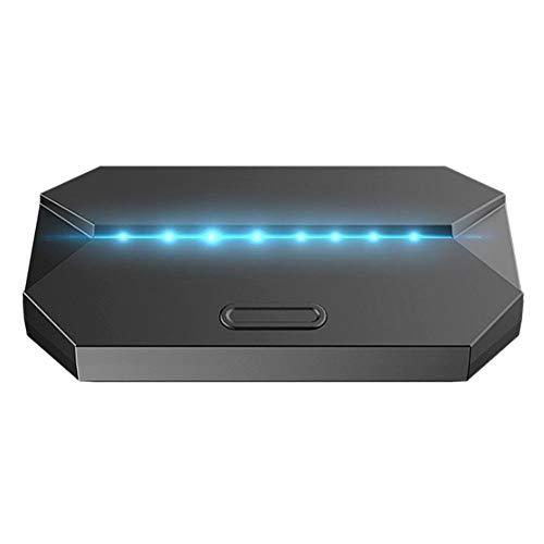 Adaptador y convertidor de Teclado y Mouse para PS4/XBOX One/Switch/convertidor de Controlador de Consola de Juegos con Soporte para teléfono móvil para Android4.4/para IOS6.0 teléfono/Tableta