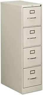 Hon 510 Series Ltr-size 4-drawer Vert. File w/Lock-4-Drawer Letter File, Vertical, 15
