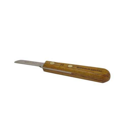 Buffalo Dental 55600 No. 7R Knife with Rosewood Handle, 1-1/2' Blade
