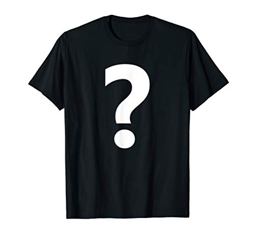 Punctuation ? Question Mark Tee Shirt