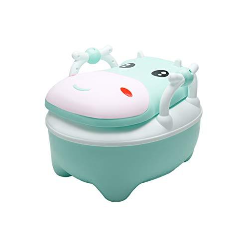 ZOOMY Sedile da Toilette per Bambini, vasino, Base Antiscivolo, Vaso per Bambini - Verde