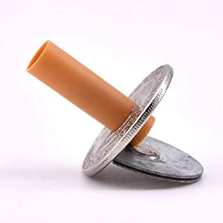 Cigar penetrated with a coin - a magic trick