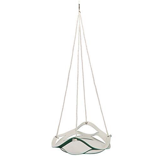 Alvinlite Flower Pot Hanger,PU Leather Wall Hanging Plant Hanger Holder Baske Home Decor(L-Green)