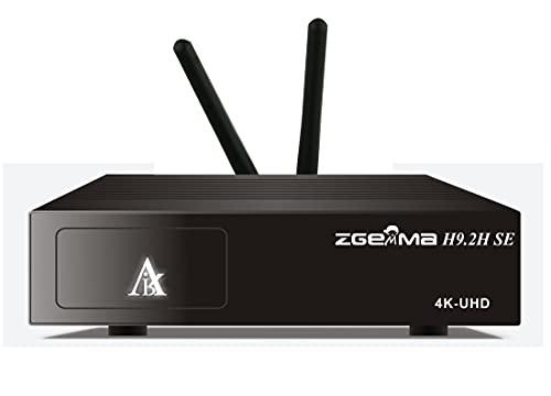 ZGEMMA H9.2H SE 4K UHD Combo Ricevitore DVB-S2X+T2 C Twin Tuners Satellite Android