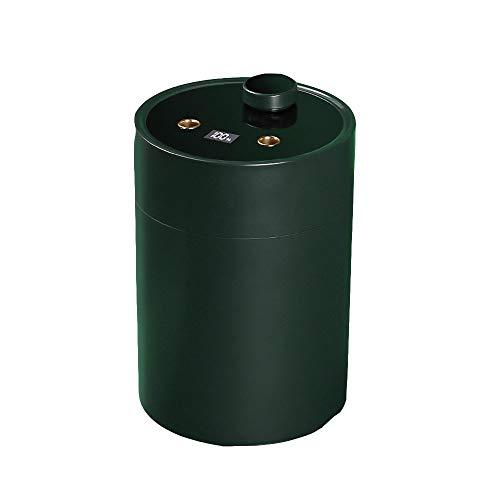 Humidificador GQIANG 600 ml Aire, silencioso ultrasónico de humidificación, Apagado automático, Usado Dormitorio En Office (Color : Green)