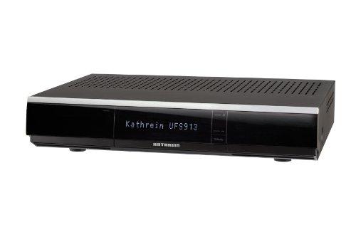 Kathrein UFS 913sw Twin DVB-S2 HD Receiver PVR USB HDD Ready schwarz