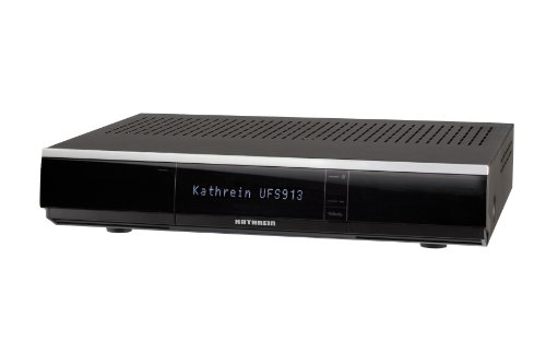 Kathrein UFS 913sw Twin DVB-S2 HD Receiver PVR USB HDD Ready schwarz
