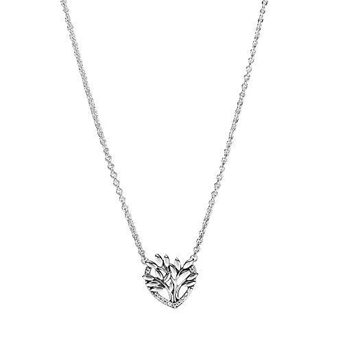 PANDORA Collar Señoras Plata esterlina circonita Otra Forma - 399261C01-50